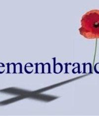 Remembrance Sunday 12/11/2017
