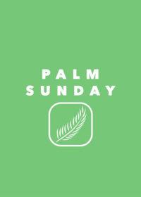 Palm Sunday 05/04/2020